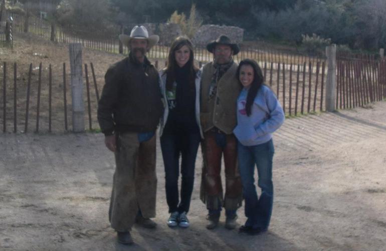 The cowboys were great fun! - Las Vegas