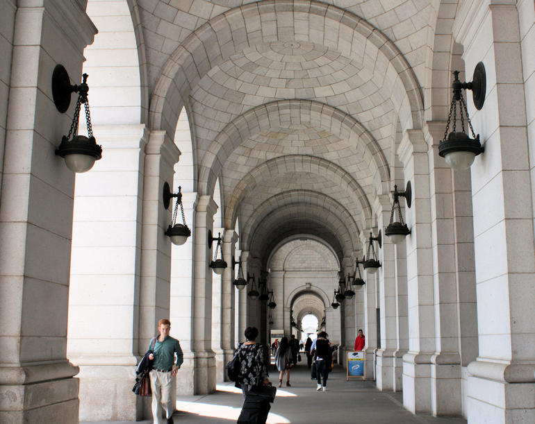 Union Station walkway - Washington DC