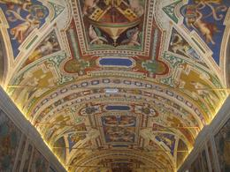 Beautiful ceiling in Vatican Museum., Donald P - September 2008