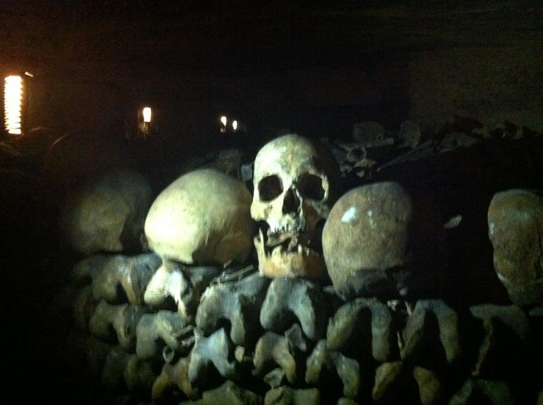 Welcome to the catacombs of Paris - Paris