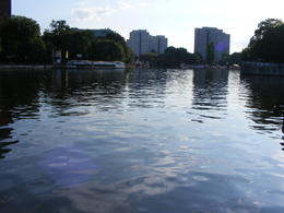 A shot of the river before we went on the boat. , Yuval G - August 2011