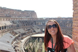 What an amazing time we had on the half day Colosseum and Forum tour! , Matt - April 2016