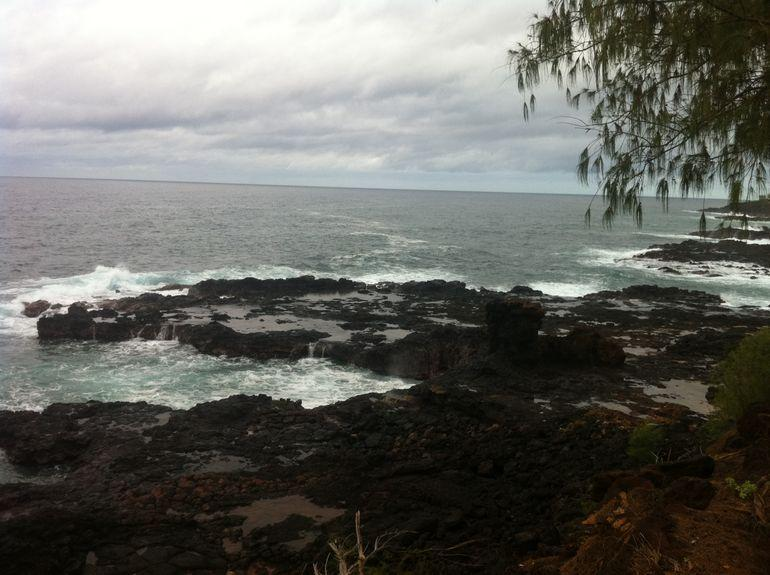 At Spouting Horn - Kauai