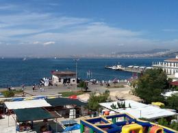 View of the Marmara Sea from Buyuk Island , Rashidah A - September 2013