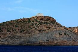 Beautiful scenery on the way back to Athens port, SCV - March 2014