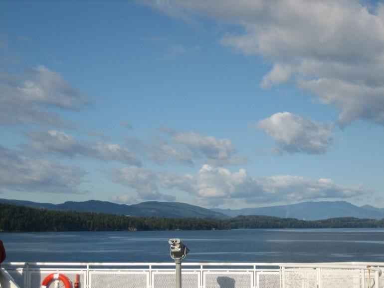 Ferry to Victoria - Vancouver