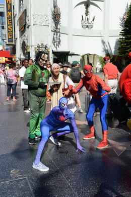 Spiderman and friends, Jeff - September 2013