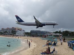 Watching the planes from the Sunset Beach Bar was a blast! , JennyC - July 2013