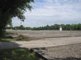 Where the original buildings once stood. All of them had been torn down and two recreated for visitors , Daniel C - May 2012