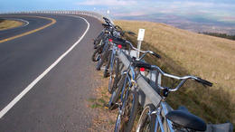 Biking down Haleakala! - February 2012