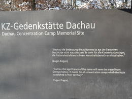 Dachau Memorial Visitor's Center , Jeffrey R - December 2010