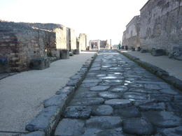 street in Pompeii , pamela j - March 2012