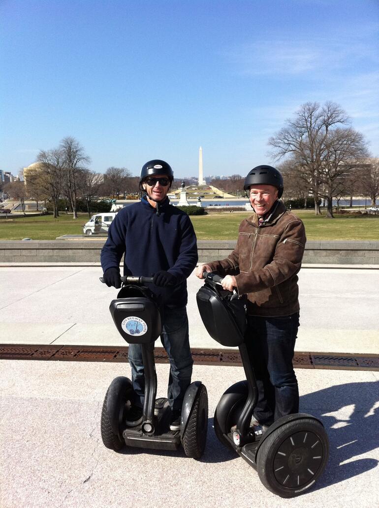 Rob and Luke. - Washington DC