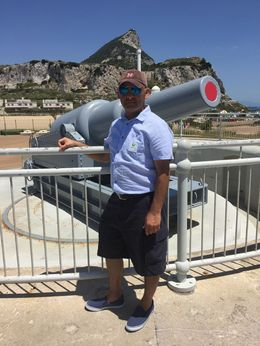 Wamiq at the Rock of Gibraltar , Sara S - August 2016
