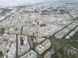 Managed to get close enough to the edge to snap some photos of the amazing views in every direction from the third level of the Eiffel Tower. Truly spectacular. , Chris N - August 2015