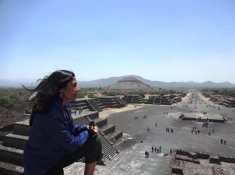 Teotihuacan pyramids - Mexico City