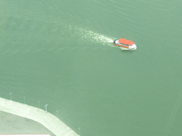 The DUKW tour from the Singapore Flyer - Singapore