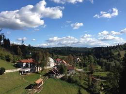 View from Predjama Castle - November 2016
