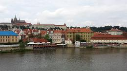 Looking across Moldau towards Smetana museum. , Edward K - August 2014