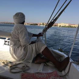 Trip on a Felucca boat , Elyse R - October 2016