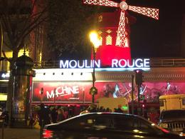 Outside the world famous Moulin Rouge , Richard A - January 2017