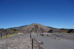 Pyramid in Teotihuacan , Debashis C - January 2017