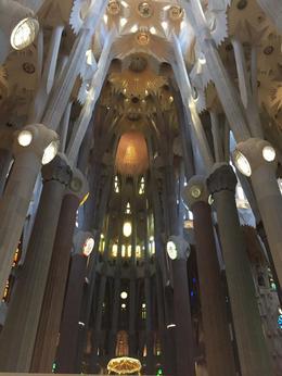 The apse of the Basilica de la Sagrada Familia , Michael C - February 2018