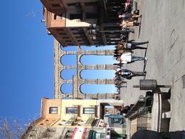Aqueduct in Segovia , Ian C - March 2012