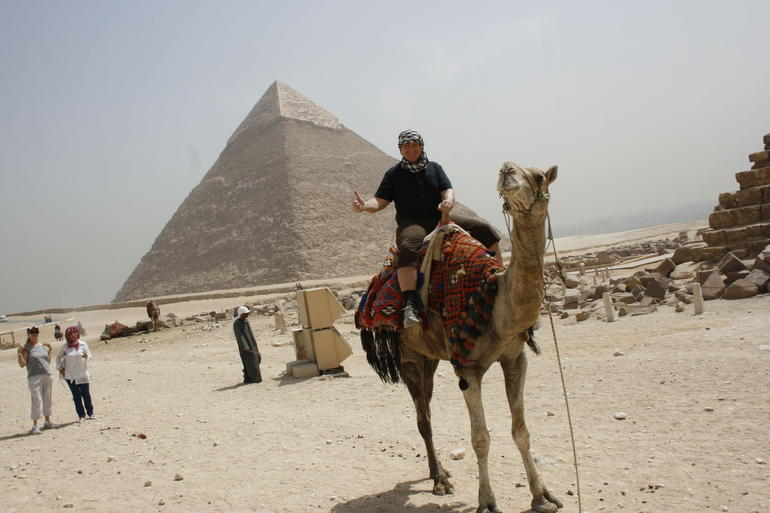 Half-Day Private tour to Pyramids of Giza and Sphinx photo 9