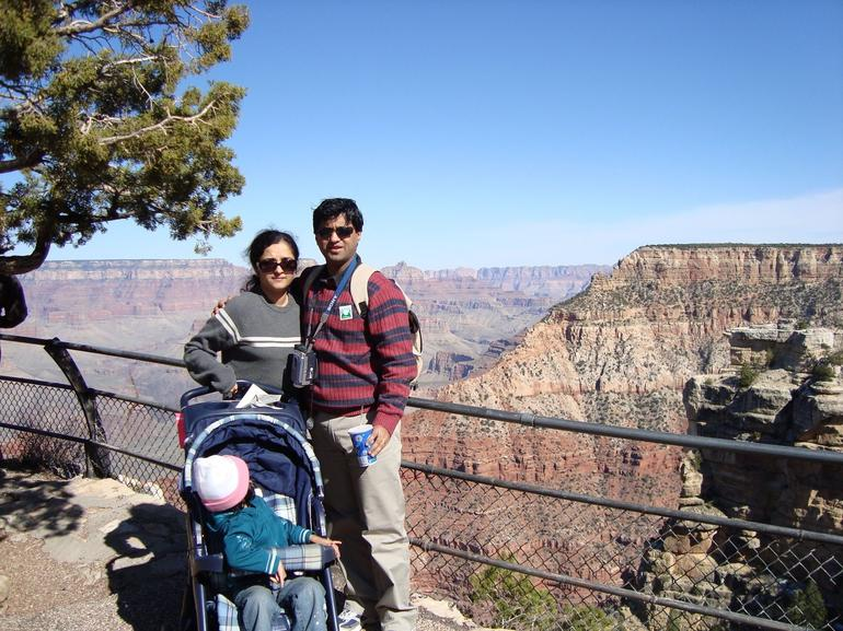 Canyon in the background - Grand Canyon National Park