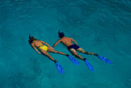 Couple Snorkeling - March 2012