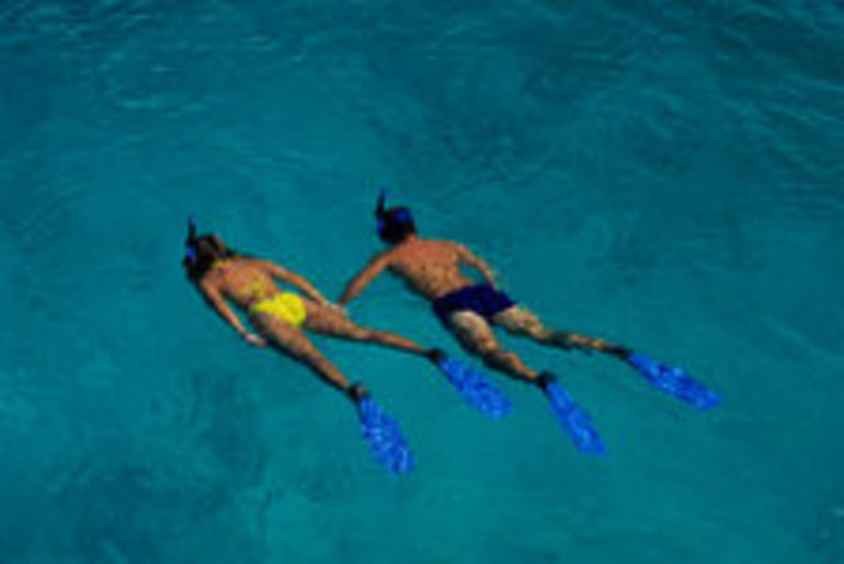 Couple Snorkeling - St Lucia