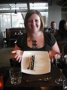 Our yummy dessert, Frances - April 2010
