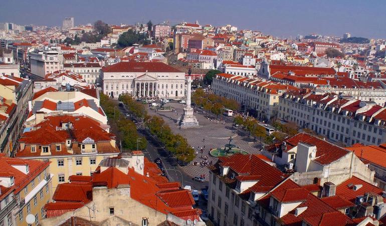 dom pedro square - Lisbon