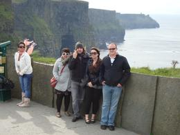 My group at the Cliffs!, Chase R - October 2010