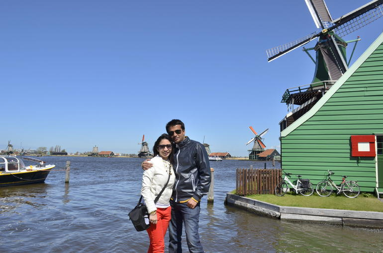 Enjoying the Windmills! - Amsterdam