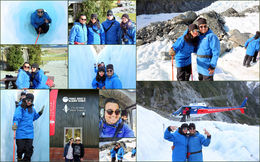 Had wonderful memories at Glacier Walk : , Varun A - June 2016