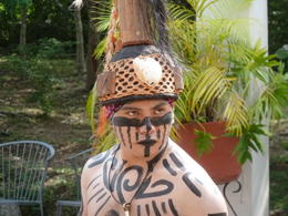 Scarey dancer at cenote ! , M S - August 2013