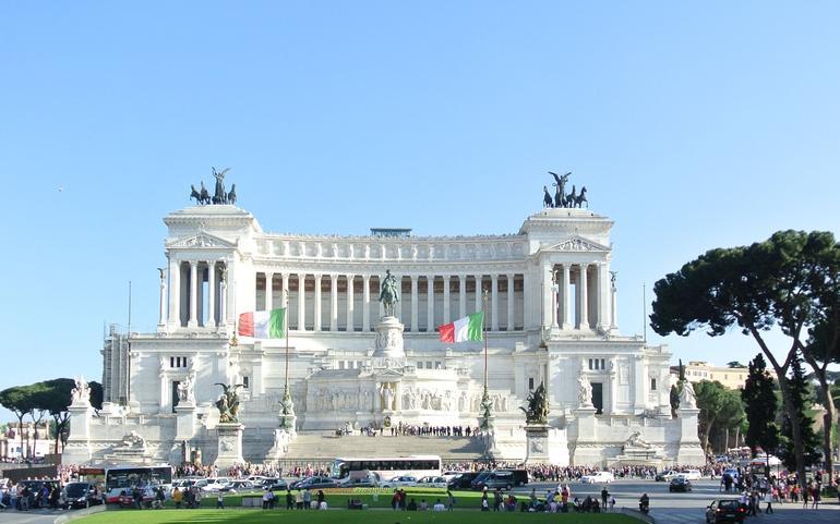 monument de la victoire emmanuel 2 - Rome