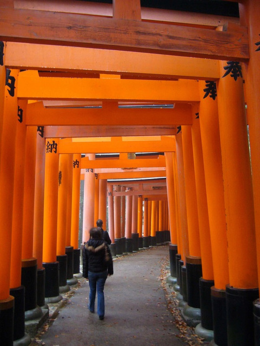 The torii never seem to end., kellythepea - October 2010
