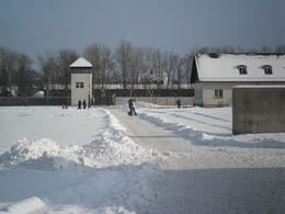 Dachau guard tower , Jeffrey R - December 2010