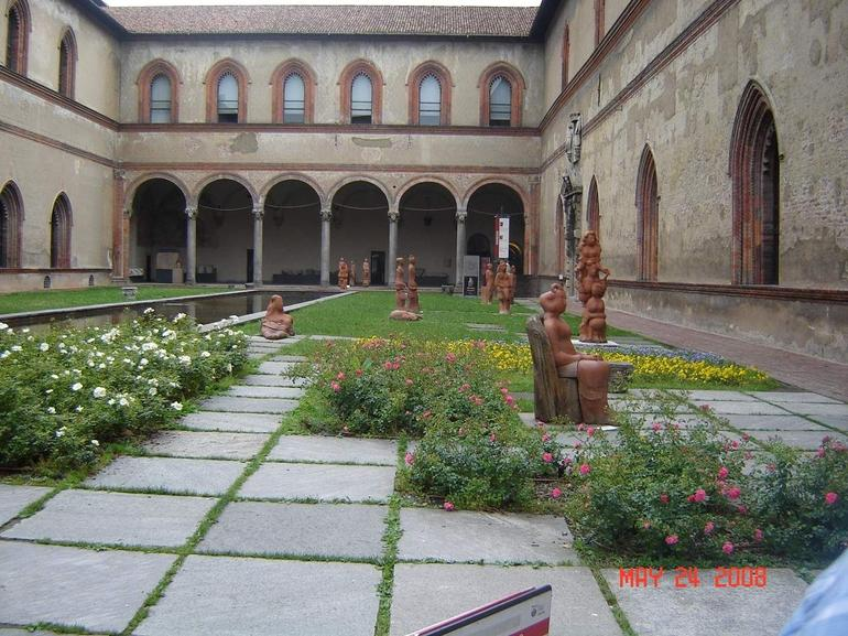 Museum inside the Castello Sforzesco - Milan