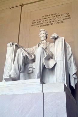 Lincoln Memorial, Jules & Brock - August 2012