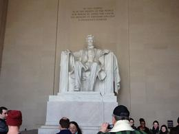 Abraham Lincoln in classic pose. , Mary C - March 2014