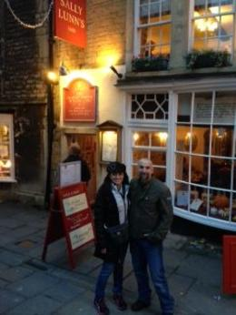Me and my husband on the Small Group tour to Bath. , Joanne C - November 2013