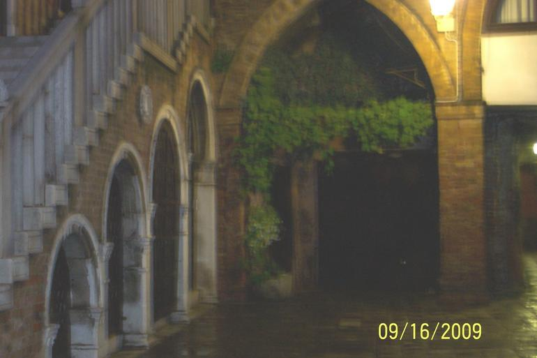 One of the many court yards - Venice