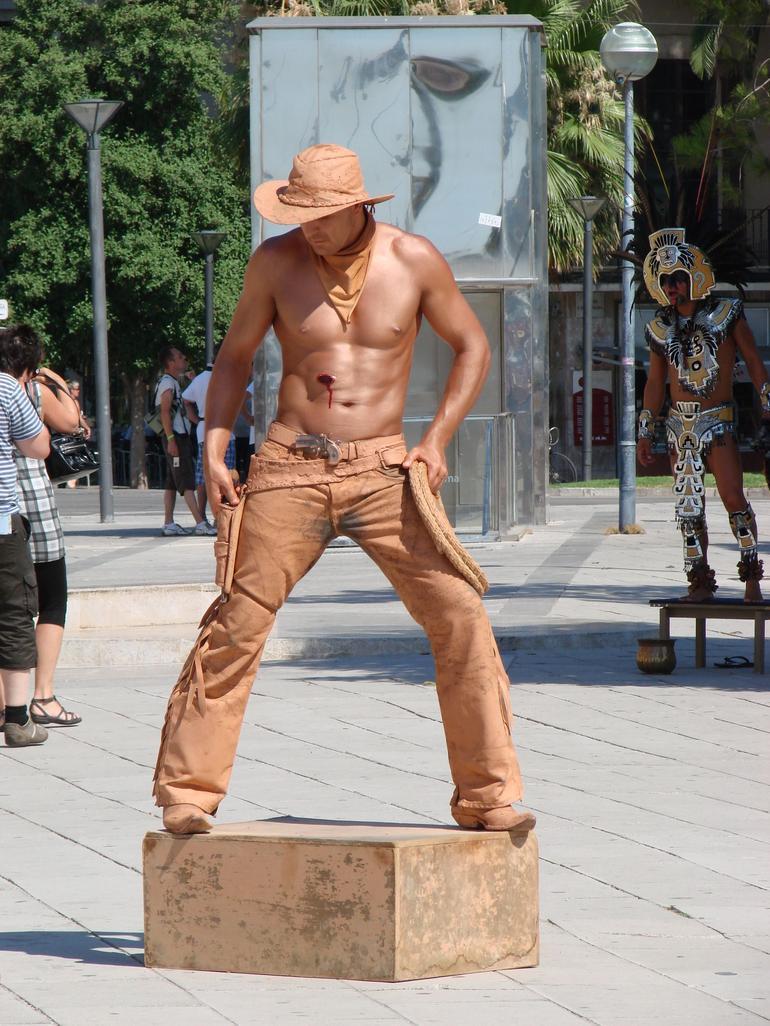 Palma De Mallorca - Living Statues - Mallorca