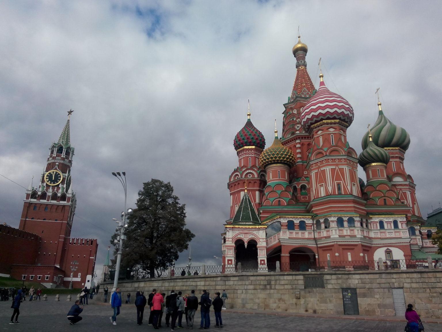 MÁS FOTOS, Visita a pie por la ciudad de Moscú para grupos pequeños