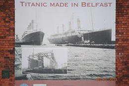 The Titanic was built in Belfast , L Douglas R - September 2013