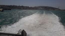 La vuelta es como la ida: El emocionante paso por El Estrecho, la estela del ferry en el mar, el frescor del ambiente, el fuerte viento...sólo que ahora es Tánger la que queda atrás...., EUSEBIO A - July 2016